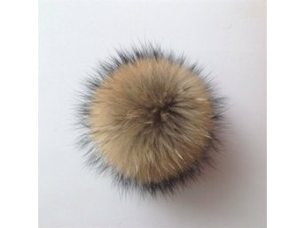 Special Faux Fur Pom Bobble With Press Stud Handmade Hats...