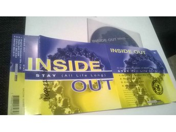 Inside out - Stay (All life long), single CD, promo