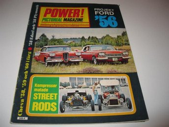 Power 1977-6 Edsel 58.Corvette 57..Studebaker Grand Turismo