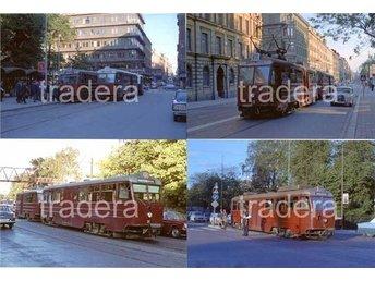 Lidingöbanan 1967, 12 st färg bilder, serie 6 - Danderyd - Lidingöbanan 1967, 12 st färg bilder, serie 6 - Danderyd