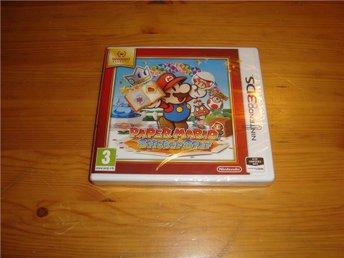 Nintendo 3DS: Paper Mario Sticker Star - NYTT INPLASTAT - Gammelstad - Nintendo 3DS: Paper Mario Sticker Star - NYTT INPLASTAT - Gammelstad