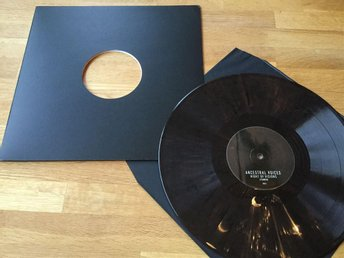 VINYL: Ancestral Voices - LP SAMPLER (2015 BRUN skiva techno industrial)