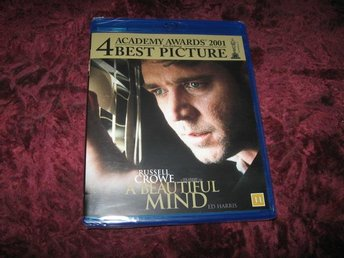 A BEAUTIFUL MIND (RUSSELL CROWE,ED HARRIS) BLU-RAY NY INPLASTAD