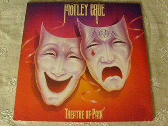 MÖTLEY CRUE - THEATRE OF PAIN - 960 418-1 - ORIGINAL INNER.