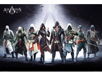 Poster (61x91 cm) - Spel - Assassins Creed Characters (FP4070)