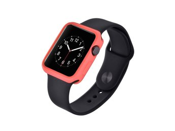 Devia Apple Watch 38mm silikonskal - Rosa