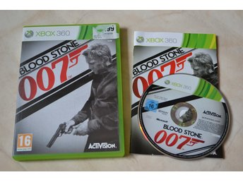 Blood Stone 007 James Bond Xbox 360 Komplett Fint Skick