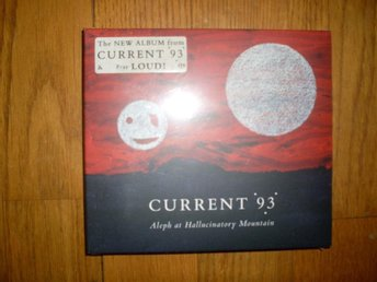 CURRENT 93 Aleph At Hallucinatory Mountain CD NY! INPLASTAD