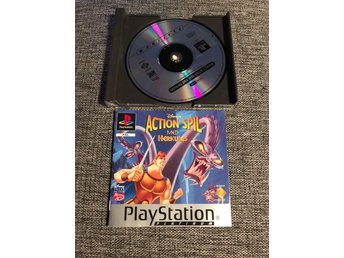 Herkules  - Disney - Playstation 1 - Svensksålt