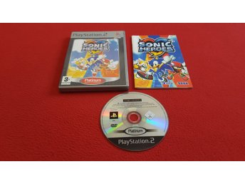 SONIC HEROES till Sony Playstation 2 PS2