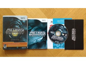 Nintendo Wii: Metroid Prime Trilogy USA STEELBOOK Collector's Edition