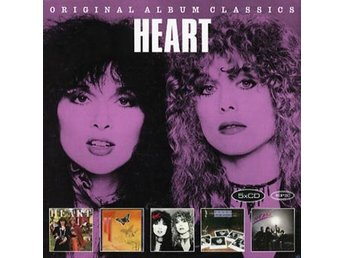 Heart: Original album classics 1977-83 (5 CD)