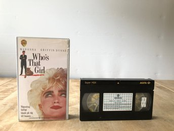 Who's that girl - Madonna - VHS