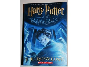 Ny oläst HARRY POTTER AND THE ORDER OF THE PHOENIX J K Rowling Tryckt år 2004