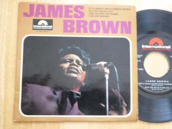 JAMES BROWN - It's a mans mans mans world Fransk EP  -66