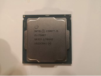 İntel core i5 7500T 7gn