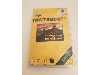 Nintendo - N64 - Hyrbox Command & Conquer - Rental
