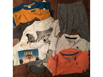 Klädpaket Baby Stl 68 H&M name it LOGG Lindex