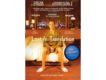 Lost In Translation (Bill Murray, Scarlett Johansson) - DVD