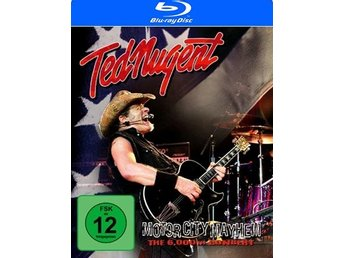 Nugent Ted: Motor City Mayhem/The 6000th concert (Blu-ray)