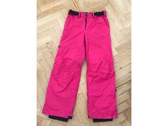 rosa täckbyxor dam