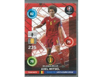 AXEL WITSEL  -BELGIQUE - ROAD TO EURO 2016
