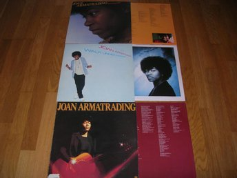 3x JOAN ARMATRADING-1st+Walk Under Ladder+Show Some  Emotion