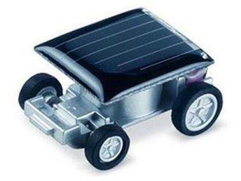 The World's Smallest Mini Solar Power Toy Race Car