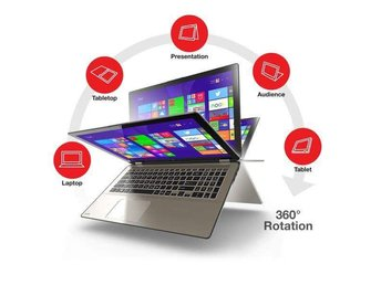 Toshiba satellite radius p55w, Core i7 (Defekt)