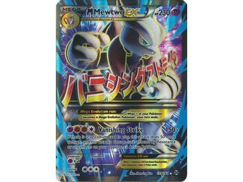 Pokémon, M Mewtwo EX - 159/162 - Full Art Ultra Rare XY Breakthrough Singles - Vindeln - Pokémon, M Mewtwo EX - 159/162 - Full Art Ultra Rare XY Breakthrough Singles - Vindeln