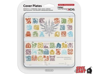 Nintendo New 3DS Cover Plates Monster Hunter 4 Ultimate Vit (022)
