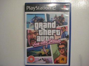 GTA Grand theft auto Vice city stories - PS2 - åhus - GTA Grand theft auto Vice city stories - PS2 - åhus