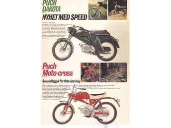 PUCH Cross Dakota  - Plansch/Poster 30x40 cm.