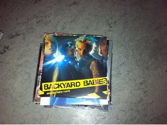Backyard Babies - Brand New Hate (cd singel pappersask)