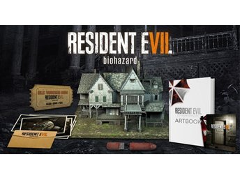 Resident Evil 7 VII Collectors Edition PS4 spel NY/ oöppnad! - Stockholm - Resident Evil 7 VII Collectors Edition PS4 spel NY/ oöppnad! - Stockholm