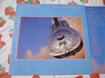 DIRE STRAITS - BROTHERS IN ARMS LP 1985