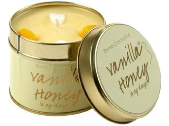 Bomb Cosmetics Tin Candle Vanilla Honey