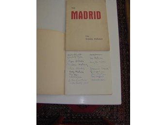 Ivar Lo, Harry Martinson m fl. Till Madrid