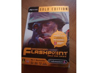 Operation Flashpoint Cold War Crisis & Gold Edition Codemasters PC CD ROM