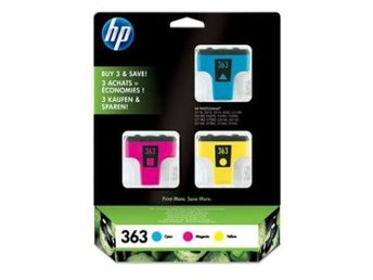 FP HP CB333EE Valuepack Hp No. 363, Cyan 4ml/Magenta 3,5ml/Yellow 6ml