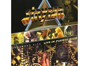 CD STRYPER GREATEST HITS LIVE IN PUERTO RICO - ny