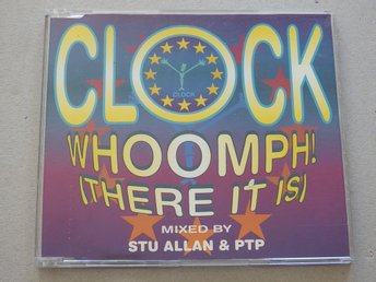 Clock - Whoomph! (There it is) CD Singel 6 Tracks