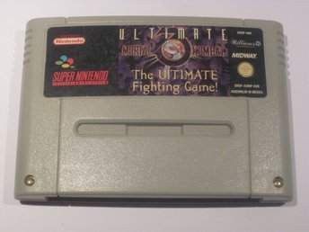 Ultimate Mortal Kombat till Super Nintendo SNES