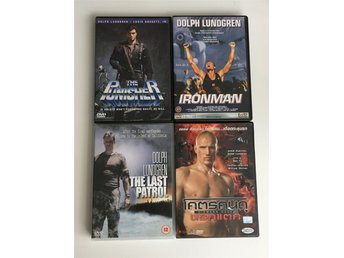 Dolph Lundgren (4-DVD) The Punisher / Iron Man / The Last Patrol / Diamond Dogs