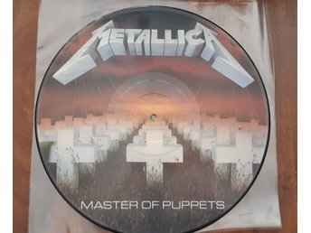 "Metallica ""Master of Puppets"" picture disc vinyl"
