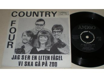 Country Four 45/PS Jag ser en liten fågel 1968