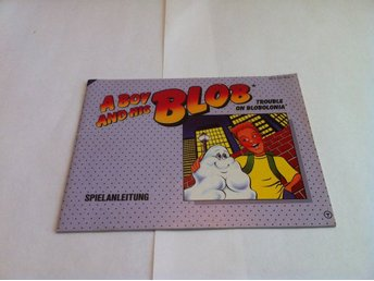 NES: Manualer: A Boy and his Blob (End. manual -Tysk)