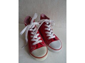 KAPPA rosa sneakers gymnastikskor barnskor stl (346953912