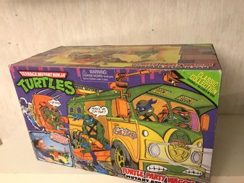 Teenage mutant hero Turtles. Turtle party wagon. Turtle van. Classic collection