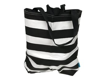 St Tropez Beach Bag # Striped